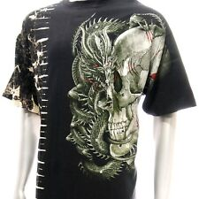 b100 M L XL XXL Survivor T-shirt Tattoo SPECIAL STUD Skull Dragon RYU Graffiti