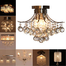 Modern Fixture Ceiling Light Lighting Crystal Pendant Chandelier Lamp Lighting