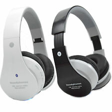 Wireless Bluetooth Stereo Headset w/ FM Radio Headphones For Apple iPhone 6 Plus