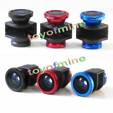 3 in 1 Fish eye Wide Angle Macro Camera Photo Zoom Lens Kit For iPhone 4 4s
