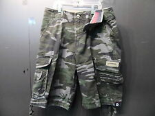 Unionbay Young Men's Cargo Shorts Archer Green Camo or Stone Multiple Sizes NWT