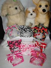 XXsmall Tea Cup Female dog Diapers,Lots of ribbon & lace! Many colors available!