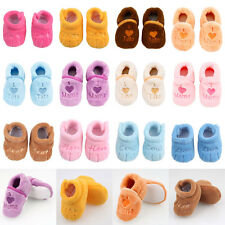 Super Soft Cute Baby Infant Shoes Coral Fleece Boots Multi Type and Color