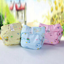 Hot Sale Infant Baby Reusable Nappy Soft Washable Inserts Covers Cloth Diapers
