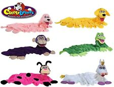 Cuddleuppets Childrens acurrucarse Animal Mantas Mano Puppets Snuggle Pet Regalo