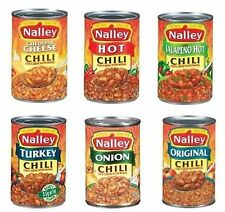 Nalley Chili Con Carne with Beans 3 ~ 15 oz. Cans