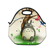 Totoro Thermal Insulated Tote Lunch Bag  Cooler Lunch Box Cool Bag w/Handle Zip