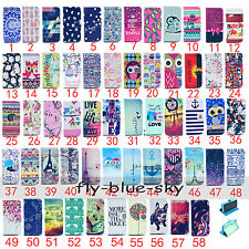 Magnetic PU Leather Holder Wallet Stand Flip Card Silicone TPU Case For iPhone