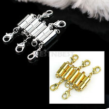 5X Silver/Gold Plated Tone Magnetic Strong Clasps Jewelry Necklace Findings Buck