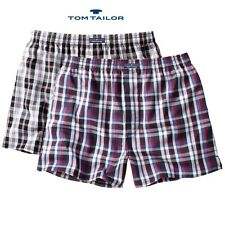 2-er Sparpack Tom Tailor Boxer Shorts,Slips, Unterwäsche Navy-Black