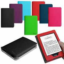 Magnetic Folio Stand Leather Cover Case For Amazon Kindle(7th Generation 2014)