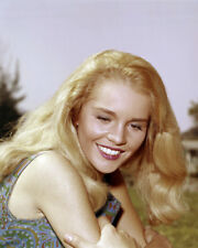 TUESDAY WELD STUNNING SMILING PORTRAIT CIRCA 1960 BLONDE HAIR PHOTO OR POSTER