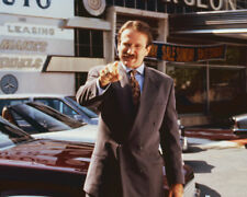 CADILLAC MAN ROBIN WILLIAMS CLASSIC POINTING ON CAR LOT PHOTO OR POSTER