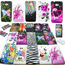 15 Choose Snap On Hard Plastic Skin Shell Phone Cover Case For HTC Desire 601