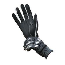 John Whitaker International Gripper Glove, Black/Silver