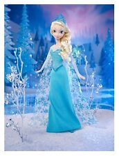 "3-10.5"" DISNEY FROZEN  ELSA CHARACTER CUSTOM FABRIC APPLIQUE IRON ON"
