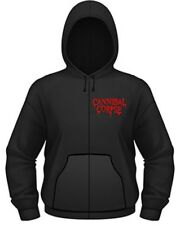Cannibal Corpse - Zip Hoodie Skeletal Domain (100% OFFICIAL MERCH NEW)