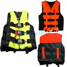 Professional Adult Children Life Jacket Swimming Rafting Snorkeling Fishing Vest