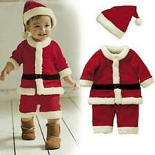 Baby Kid Boys Christmas Sets Xmas Santas Party Jumpsuit Costume Outfit Suits A57