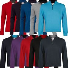 2015 Cutter & Buck WIND-BARRIER Thermal Golf Sweater Jumper FULLY LINED Pullover