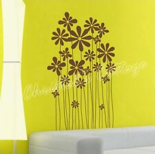 Daisy Flower Plants Vinyl Wall Art Graphic Sticker Decals Fashionable Decoration