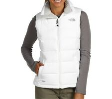 The North Face Womens Nuptse 2 Vest Jacket Winter down coat White M-XXL NEW