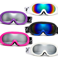 "The ""Poptart"" Adult Snow Ski Winter Goggles Frame Anti Fog Dual Lens 6 Styles"