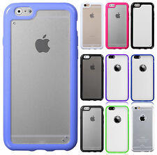 For Apple iPhone 6 / 6s TPU Gel GUMMY Hard Skin Case Phone Cover Accessory