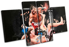MMA Vitor Belfort Sports MULTI CANVAS WALL ART Picture Print VA