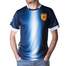 Great Gift: Adults Scotland Football Jersey Top Navy White Size XS to XXL
