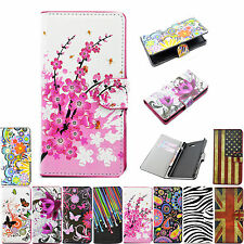 Wallet Card Slots Phone Leather Flip Pouch Case Cover Accessory For Sony Xperia
