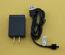 OEM Sony Ericssson 1.5A Rapid Home Travel Wall AC DC Adapter + USB Charger Cable