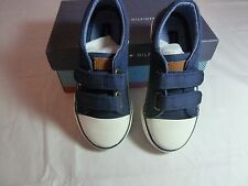 NIB TOMMY HILFIGER CORMAC VELCRO SHOES (NAVY BLUE) - TODDLER/Little KIDS SZ 5-12