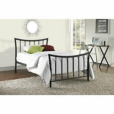 DHP Bali Bronze Metal Curved Bed Frame
