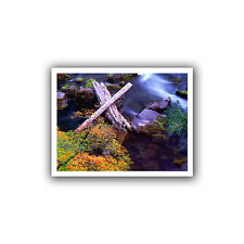Dean Uhlinger 'Rogue River Fall' Unwrapped Canvas