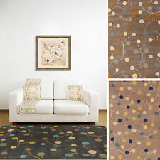 Hand-tufted Gum Drop Floral Runner Wool Area Rug (2' x 8')