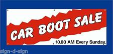 CAR BOOT SALE HERE BANNERS CHOOSE OWN DATE & TIME Car boot fares 1002