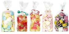 Clear cello bags, gusset, cellophane, Party, Gifts, Sweets, Sealable Display (3)