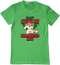 You Can't Catch Me I'm The Ninjabread Man Kids Youth T-Shirt Tee Christmas Gift