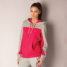 adidas Womens Essentials Hooded Track Top In Cerise From Get The Label ad1