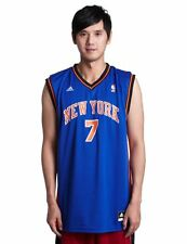 New York Knicks Carmelo Anthony Blue Replica Jersey