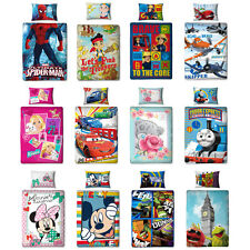 Kinder Premium Bettwäsche 135x200 Bettgarnitur Disney Violetta Spiderman Cars
