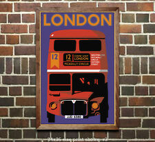 London #1 - Vintage Travel Poster (reproduction)