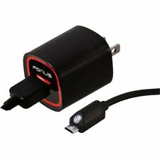 RAPID 2.1 AMP HOME TRAVEL WALL CHARGER WITH 6FT USB LED CABLE for VERIZON PHONE