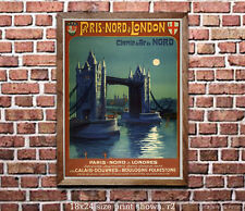 London #3 - Reproduction Vintage Travel Poster