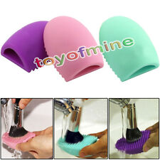 Cleaning Cosmetic Makeup Brush Tool Silicone Hand Cleaner Tool Finger Glove
