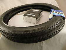 All Black Shopper Cycle Bike Tyres 20 x 1.75 (47-406)  -  One Pair
