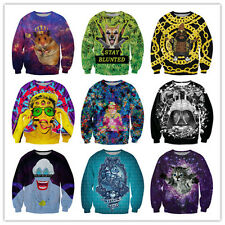 2014 Winter Women Sweaters 3D Print Sweatshirt Casual Women Hoodies Sweatshirts