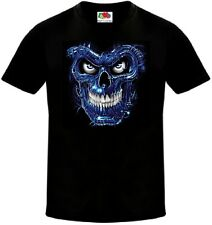 The Terminator Skull Science Fiction Film T-Shirt - All Sizes Available