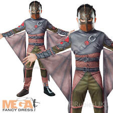 Hiccup Viking Boys Fancy Dress How To Train Dragon 2 Film Kids Childrens Costume
